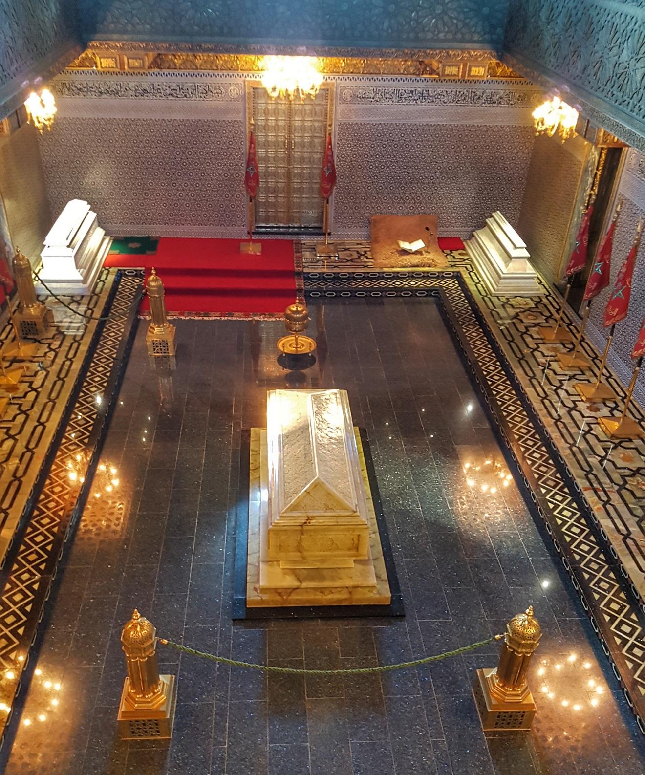 mousoleum mohammed V, muzej muhameda V , rabat, maroko,