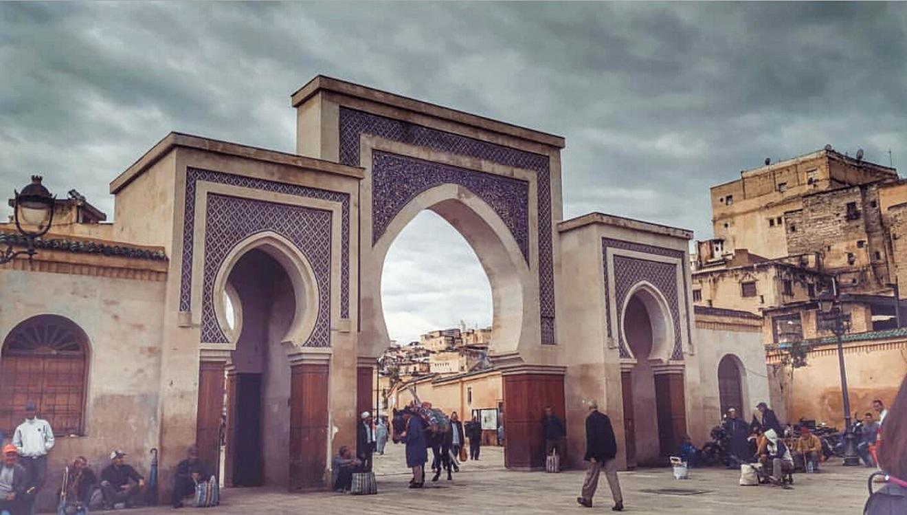 bab bou jeloud, fes, fez , maroko