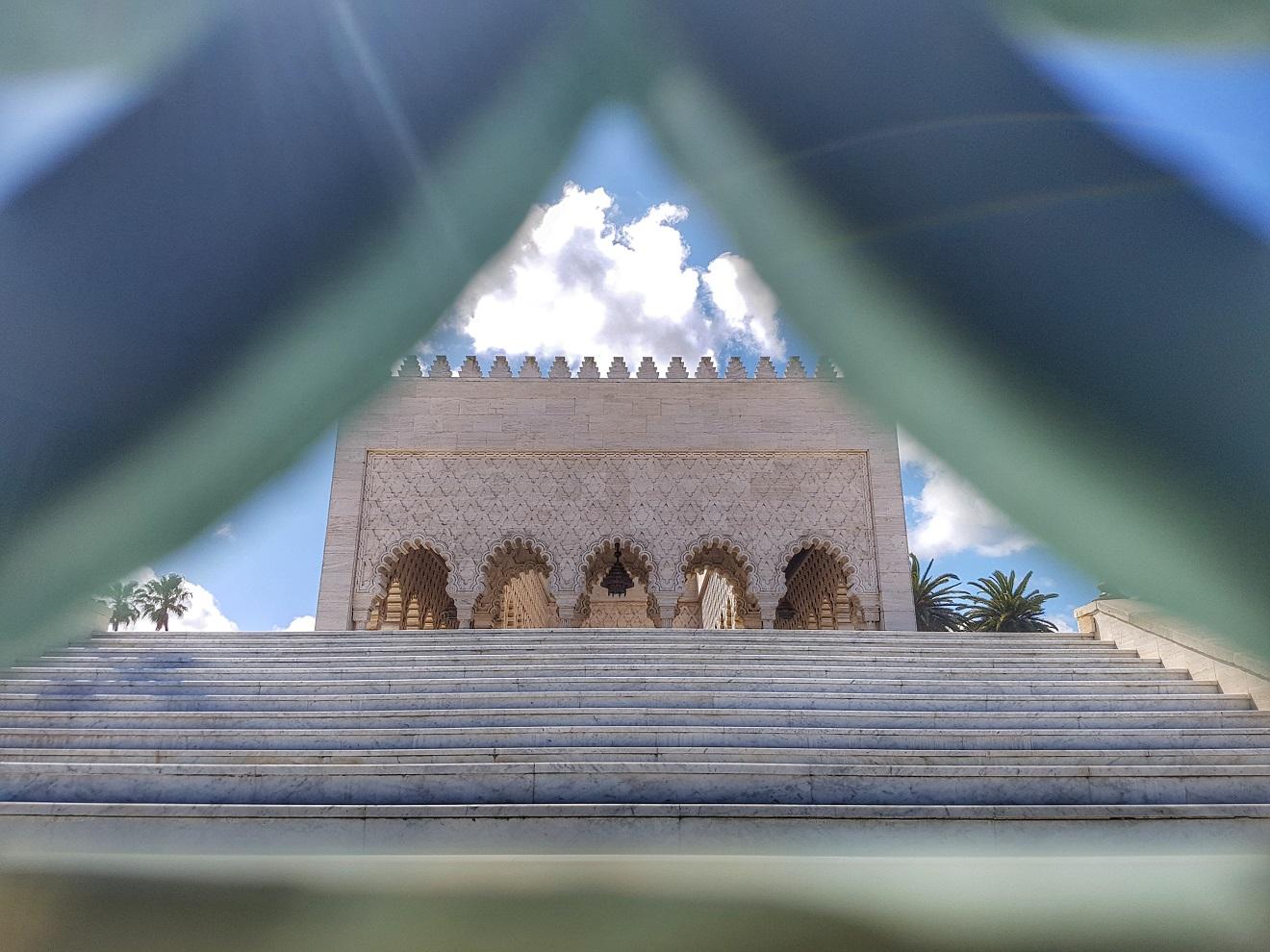 mousoleum mohammed V, mauzolej muhameda V, rabat, maroko