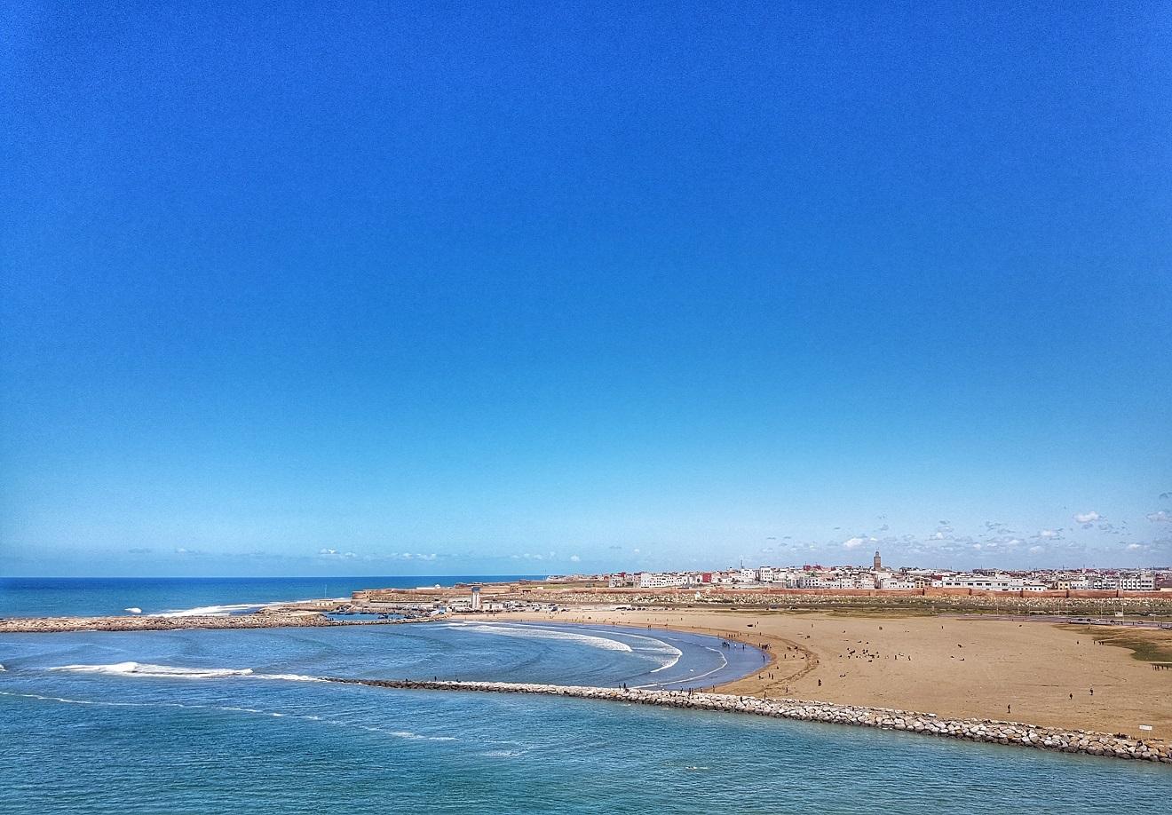 Atlantic ocean, rabat , morocco, maroko, atlantik
