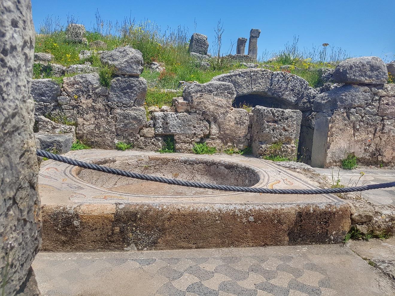 volubili, rimski grad u maroku, mozaici, maroko, arheološko nalazište maroko, meknes