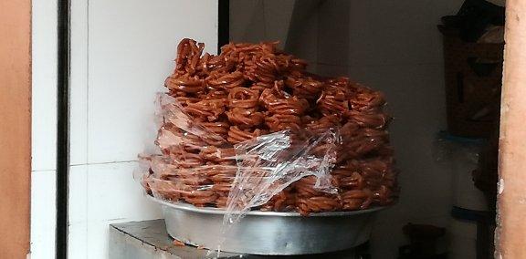 Chebakia hrana Maroko