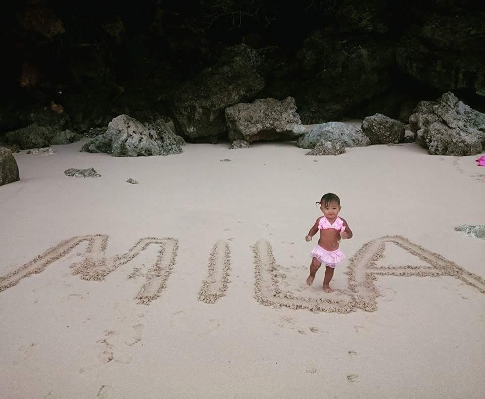 devojcica, plaza, Bali