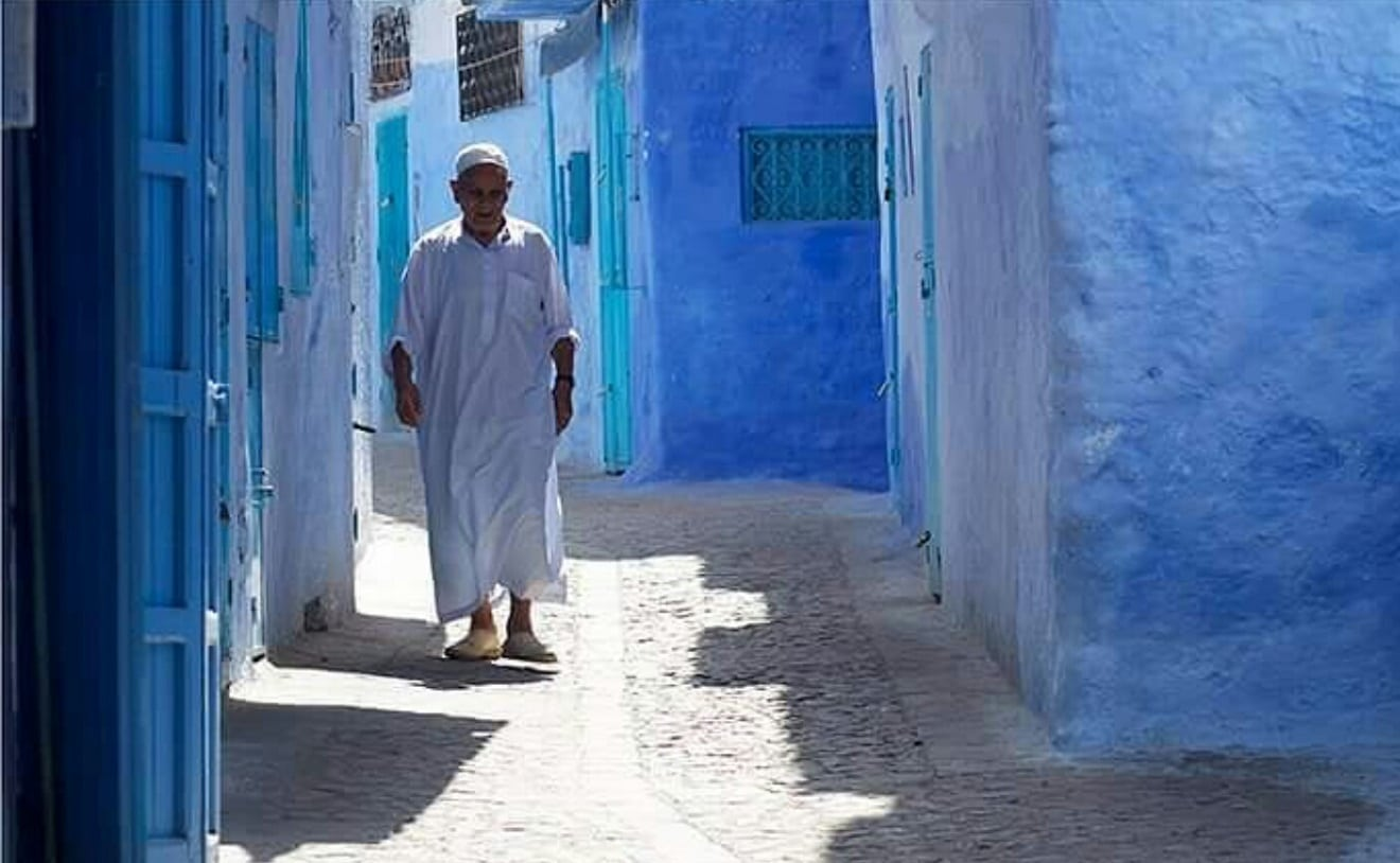 morocco, moroccan people, chefchaouen, chaouen, blue city, blue pearl
