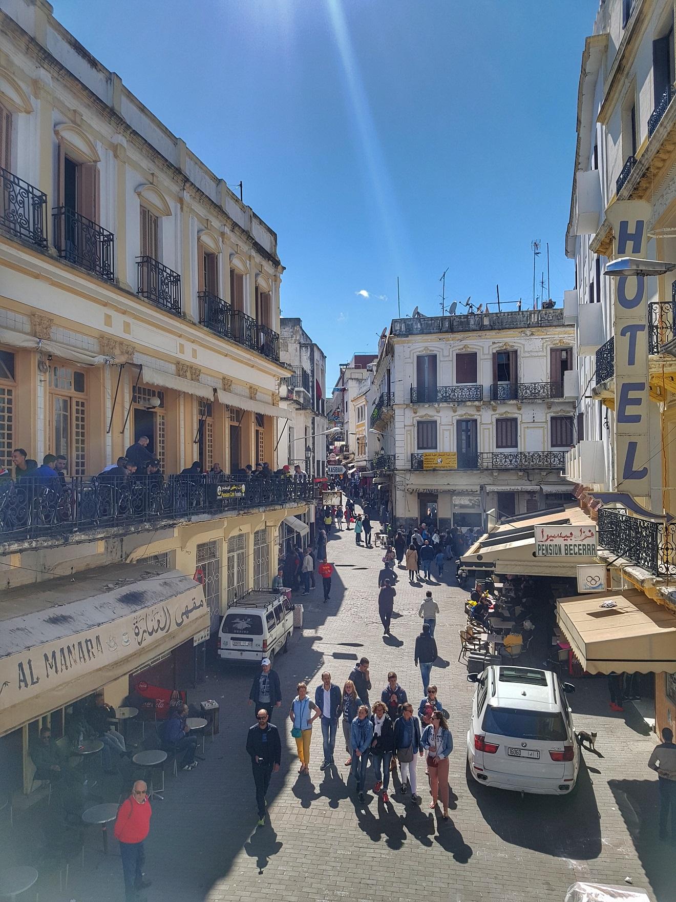la petit socco, tangier, tanger , maroko